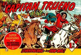 Capitan Trueno diferencia tebeo comic www.lachicadeltercerob.com